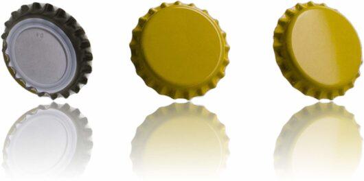 Tapón Corona - amarillo