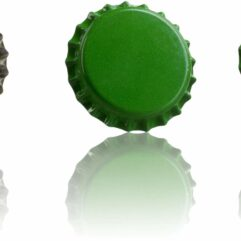 Tapón Corona - verde medio