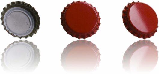 Tapón Corona - rojo