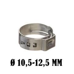 Abrazadera para tubos flexibles 10,5-12,5 mm