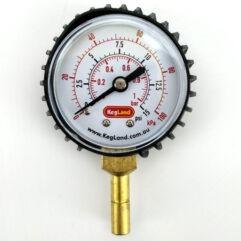 Manómetro 0-15 psi (8 mm)